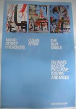 MANIC STREET PREACHERS Ocean Spray Original Official UK Record Company POSTER