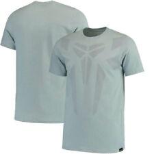 Nike Kobe Brand Mark Men's T-Shirt SIZE M Blueish Gray 806755-392 Black Mamba