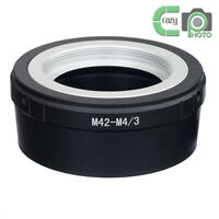 M42-M4/3 Adapter for M42 Screw Mount Lens to Micro Four Thirds M4/3 MFT GH4 OM-D