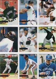 1994 Pinnacle Baseball Team Sets **Pick Your Team**