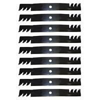 9 PK 10073 Blades Compatible With John Deere M128485