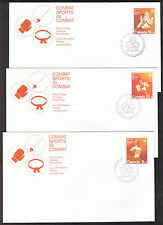 Set of 3 Canada First Day Covers - Olympic Games 1975 Stamps sg814 to sg816