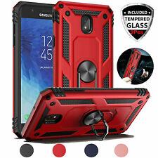 For Samsung Galaxy J7 V 2018/Refine/Crown Case Cover Kickstand Screen Protector