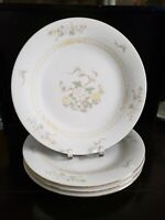 "LILING FINE CHINA JADE TREE 4 DINNER PLATE 10 1/2"" DIAMETER. EXCELLENT CONDITION"