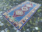 Handmade rug, Area rug, Turkish rug, Vintage, Wool rug, Carpet | 3,3 x 6,1 ft