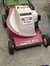 Victa Mustang Mark 3 Lawn Mower Complete with Catcher - Running