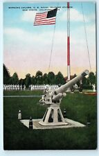 US Naval Training Station San Diego California CA Cannon Vintage Postcard A52