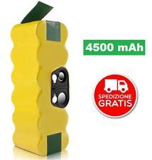 ✅ BATTERIA iRobot Roomba 4500mAh R3 500 600 620 700 800 E ALTRE 14.4 DI RICAMBIO