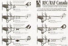 Blue Rider 1/72 Curtiss Femelles dans le USA et Canada # 226