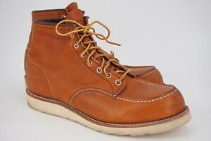 $279 | RED WING 11.5 875 CLASSIC MOC MEN'S 6-INCH BOOT IN ORO LEGACY LEATHER