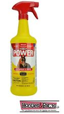 Pyranha POWER Fly Spray N Wipe For Horse's Kill Repel all Flies Mosquitoes 32oz