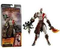 God of War Golden Fleece Kratos Action Figure with Medusa Head Video Game 19