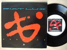 """Fiat Lux Secrets / Comfortable Life A2 B2 UK 7"""" Polydor FIAT 2 1983 EX"""