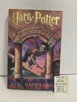 J.k. Rowling - Harry Potter and The Sorcerer's Stone - 1st Edition HC Hard Cover