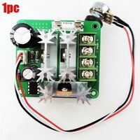 1Pcs 6-90V 15A Dc Motor Speed Controller Pulse Width Pwm Speed Regulator Swit tl