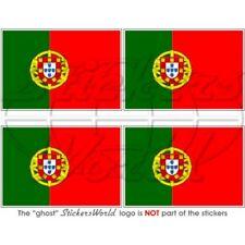 PORTUGAL Drapeau PORTUGAIS Vinyle Autocollants Sticker 50 mm x4