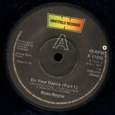 "ROSE ROYCE do your dance/part 2 K 17006 uk whitfield 1977 7"" WS EX/"