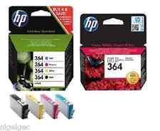 HP 364 Set di 5 C5380 C6380 D5460 B8550 C5324 C6324