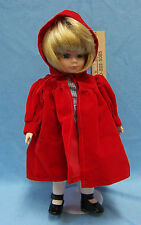 Bradley Collectable Doll Little Red Riding Hood  With Stand Fairy Tale Porcelain