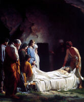 Art oil painting The Dead - Christ Jesus was buried before tomb canvas