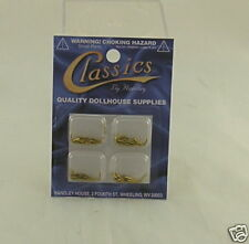 Classics 1/4 Inch Brass Brads for Hobby, Crafts