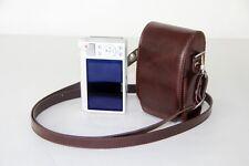 Coffee leather case bag for Canon IXUS 175, IXUS 275 HS, IXUS 170, IXUS 165 160