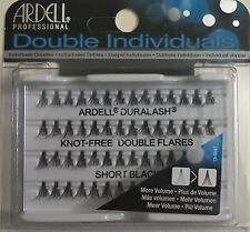 (LOT OF 72) Ardell Duralash Knot-Free DOUBLE Flares SHORT Individual Flairs