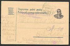 German Reich covers 1915 Fieldpost PC Tabori to Berlin