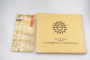 MONT ST. CLAIR PRESENTS LA MUSIQUE POUR LES GATEAUX JAPAN CD OBI A14147