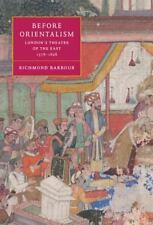 Cambridge Studies in Renaissance Literature and Culture: Before Orientalism :...