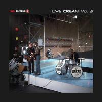 """Cream : Live Cream - Volume 3 VINYL 12"""" Album (2019) ***NEW*** Amazing Value"""