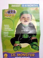 Infant 0-6 Months Baby Lil' Monster Costume Pequeño Monstruo Disfraz Bebé C-15