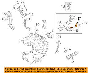 SUBARU OEM 04-07 Impreza-Fuel  Level Sending Unit 42081FE020 (42081FE021)