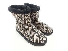Vera Bradley Cozy Booties - Zebra - Medium (Size 7-8) 15346-713M NWT