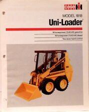 CASE Sales Brochure, Model 1818 Uni-Loader