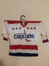 Rollie Boutin Washington Capitals NHL Sandow SK Home Game Hockey Jersey