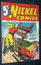 Nickel Comics #7 Bulletman Fawcett 1940 RARE HTF