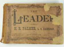 The Leader by Palmer 1874 HC Collection of Sacred and Secular Music