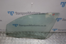 2005 BMW 120D 1 Series Passenger side front window glass