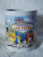 M&M's World Welcome To Las Vegas Coffee Mug Cup Custom Sandra 11 oz