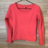 Charlotte Tarantola Sweater Size S Angora Bright Pink Anthropologie