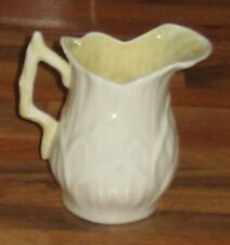 Belleek Milk Jug Creamer Lily Pattern