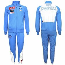 Napoli Men s Kappa Masterin Tracksuit Set Top Bottom - Small - Sky Blue -  New f0132feabc284