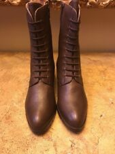 Corso Como Women's Brown Leather Boots, US 9.5