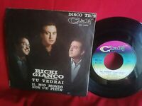 RICKI GIANCO tu vedrai Disco Tris CLAN 45rpm 7' + PS 1962 ITALY MINT-