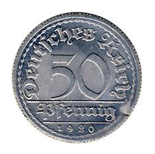 DEUTSCHES REICH - 50 Pfennig 1920 E - ERROR Verprägung FAUTEE - ANSEHEN