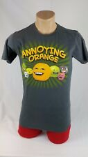 Annoying Orange Gray T Shirt Color Medium Size