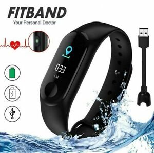 M3X Smart Watch Blood Pressure Sport Wristband Band Fitness Tracker Heart Rate
