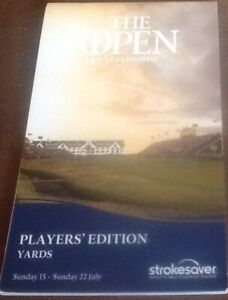 The Open Championship Carnoustie 2018 Players Edition Stroke Saver no I