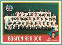 1976 Topps #118 Boston Red Sox